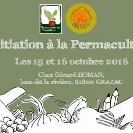 15/10/2016 – Stage «Initiation à la permaculture» (2 jours)