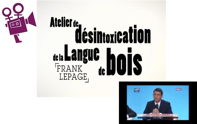 19/02/2017 – Projection-Débat du film « Animer un atelier de désintoxication de la langue de bois »